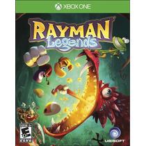 Rayman Legends Xbox One Novo Lacrado Original