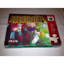 Robotron 64 (nintendo 64, 1998) Original E Completa - Rara