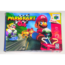 Caixa Mario Kart 64 (replica Em Tamanho Real)