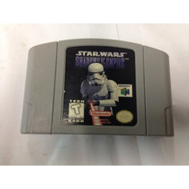 Fita De Nintendo 64 Star Wars Shadow Of The Empire Americana