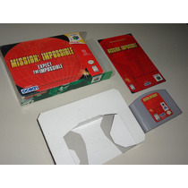 Nintendo 64 - Mission Impossible Original Completo