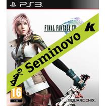 Final Fantasy Xiii - [seminovo] - Ps3