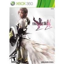Jogo Ntsc Lacrado Original Final Fantasy Xiii 2 Pra Xbox 360