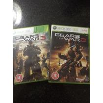 Gears Of War 2 E 3 Original Mega Promicao Apenas 10 Unidades