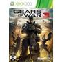 Jogo Gears Of War 3 Xbox 360 Midia Fisica Lacrado Nota Fisca