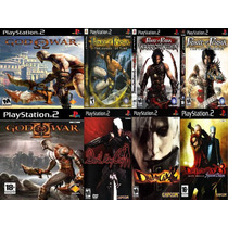 8 Jogos Ps2 God Of War / Devil May Cry / Prince Persia Patch