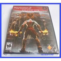 God Of War 2 Ps2 Playstation Original Lacrado Deus Da Guerra