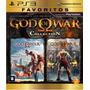God Of War Collection 1 E 2 Favoritos - Novo E Lacrado