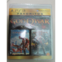 Jogo God Of War 1 E 2 Collection Ps3 Original Lacrado