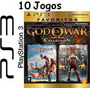 10 Jogos Ps3 God Of War Colletion Midia Física Lacrado Nf