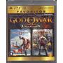 Coleção God Of War 1 E 2 Para Ps3 Original