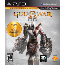 God Of War Saga Collection Ps3 C/ 5 Jogos Pronta Entrega