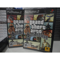 Grand Theft Auto Gta San Andreas - Original - Lacrado - Ps2