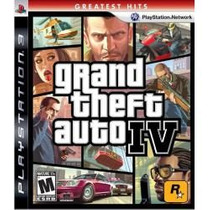 Gta 4 Grand Theft Auto Iv 4 - Ps3 - Lacrado - Ottogames
