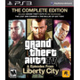 Grand Theft Auto Iv The Complete Edition Ps3 Playstation 3