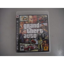 Grand Theft Auto Iv Ps3 Gta 4 Black Label Semi Novo