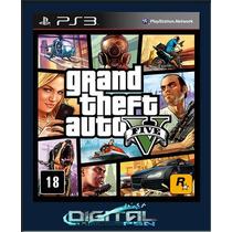 Gta 5 V-grand Theft Auto V Legendado Pt Br Ps3 Entrego Agora