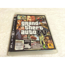 Grand Theft Auto Iv (sony Ps3, 2008)