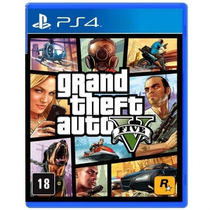 Gta V Português Ps4 Lacrado Grand Theft Auto 5 Playstation 4