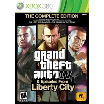 Grand Theft Auto Iv The Complete Edition - Xbox 360