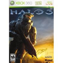 Jogo Halo 3 Ntsc Original Para Xbox 360 Usado Menor Preço