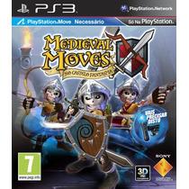 Ps3 * Medieval Moves: No Castelo Fantasma * Em Português