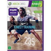 Game Kinect Nike + Kinect Training Original No Leilão