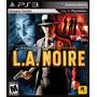 L.a. Noire La Noire Ps3 - Leilão Começando A R$1,00