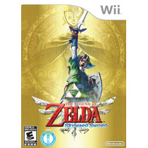 Jogo The Legend Of Zelda Skyward Sword Para Nintendo Wii