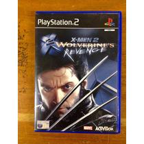 Cd De Play2 Original Xmen Wolverines Revenge
