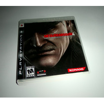 Metal Gear Solid 4: Guns Of The Patriots Mgs Completo - Ps3