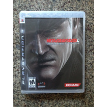 Metal Gear Solid 4 Ps3 Completo Mgs4