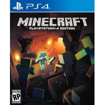 Minecraft Ps4 Em Português - Sedex A Partir De R$ 7,50
