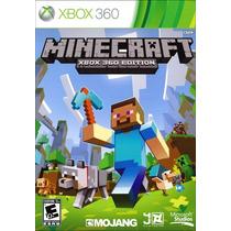 Minecraft. 100% Em Português. Novo. Para Xbox 360