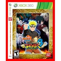 Xbox Naruto 3 Ultimate Ninja Storm 3 Full Burst
