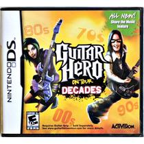 Guitar Hero On Tour Decades Original Nintendo Ds Lacrado