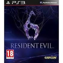 Resident Evil 6 - Ps3 Via Card Psn