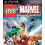 Lego Marvel Super Heroes Português Ps3 - Midia Digital