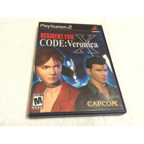 Resident Evil Code: Veronica X(playstation 2, 2001)completo