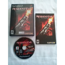 Resident Evil Outbreak Playstation 2 Original Ntsc Completo