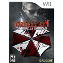 Jogo Resident Evil The Umbrella Chronicles Wii , Lacrado Usa