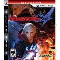 Devil May Cry 4 - Ps3 - Americano Lacrado De Fábrica
