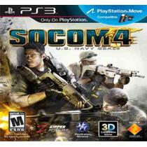 Socom 4 U.s. Navy Seals - Ps3