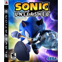 Sonic Unleashed Ps3 - Aceito Trocas