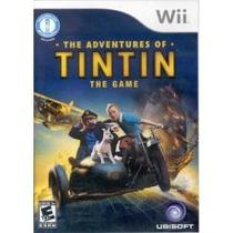Jogo The Adventures Of Tintin Tin Tin The Game Nintendo Wii
