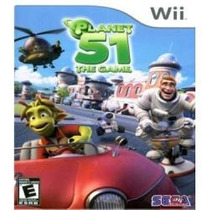 Jogo Ntsc Lacrado Planet 51 The Game Para Nintendo Wii