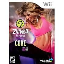 Jogo Zumba Fitness Core Para Nintendo Wii
