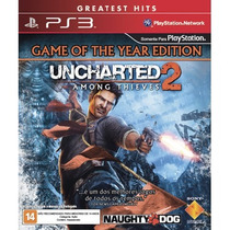 Jogo Lacrado Ps3: Uncharted 2 - Among Thieves.