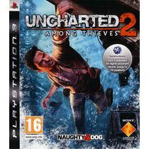 Uncharted 2 Among Thieves Playstation 3 U2 Inglês