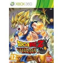 Jogo Dragon Ball Z Ultimate Tenkaichi Lacrado Para Xbox 360
